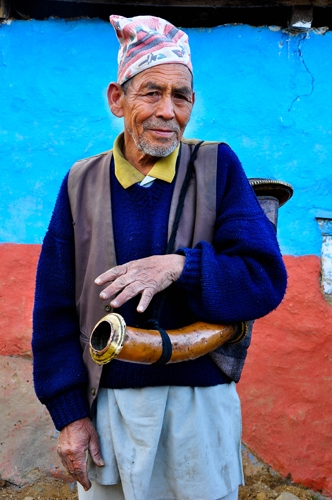Traditional musician IV